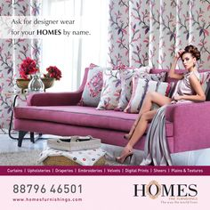 For the largest collection of embroidery home fabrics, visit www.homesfurnishings.com  ‪#‎embroiderycollection‬ ‪#‎homefabric‬ ‪#‎homedecor‬ ‪#‎curtains‬ ‪#‎upholstery‬ ‪#‎homesfurnishings