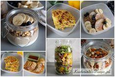 Drugie śniadanie - zdrowe przepisy na cały tydzień | KuchniaWeDwoje.pl - Prosty i sprawdzony przepis. Baked Potato, Potatoes, Nutrition, Baking, Ethnic Recipes, Fitness, School, Food, Potato
