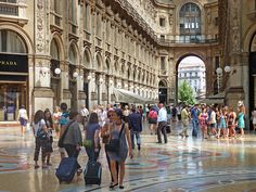 Milan summer by angelocesare, via Flickr