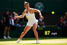 olympic88:    Simona Halep  Wimbledon 2016