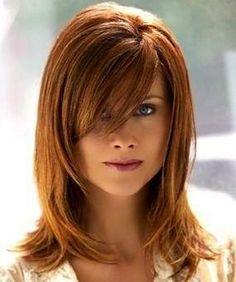 layered haircuts with bangs | Layered Medium Hairstyles 2012 Layered Medium Hairstyles