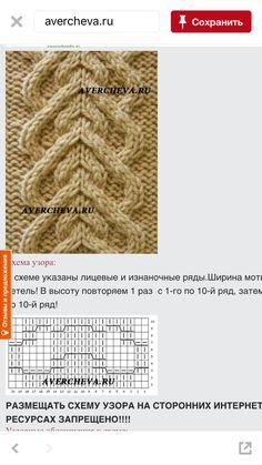 Cable knit pattern Cable Knitting Patterns, Knitting Stiches, Knitting Charts, Afghan Crochet Patterns, Knit Patterns, Knitting Room, Knitting Yarn, Hand Knitting, Knit Headband Pattern