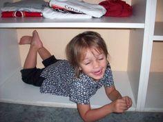 verstopt in de kast