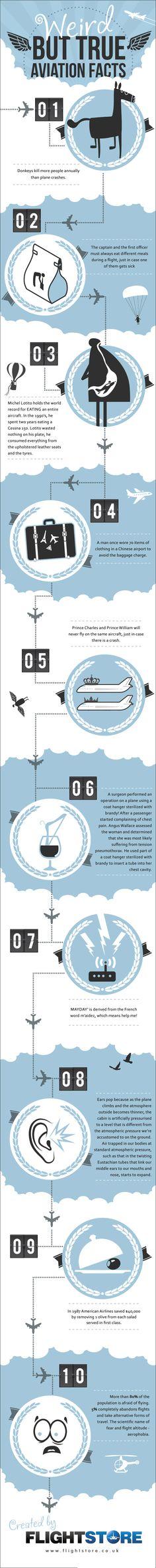 Twist My Tweet: Weird But True Aviation Facts