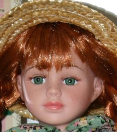 Ann of Green Gables Doll is a 16 inch doll by Avonlea Dolls.  She porcelain face, arms and legs.  $68.95