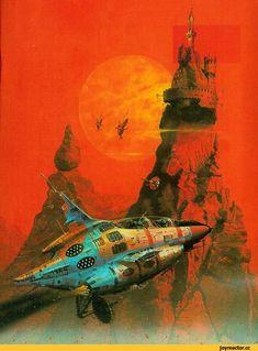 retro science fiction,#retro sci-fi,разное,Peter Andrew Jones