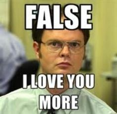 """LoL-This guy is trying to say """"I am the one who loves more"""" #FALSE #liar #iwin"""