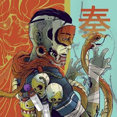 "4,629 Likes, 3 Comments - ART GALLERY (@empire_of_samurai) on Instagram: ""#samurai #asia #china #japan #katana #american #shuriken #arrow #america #oni #bow #onimask #sword…"""