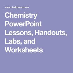 Collection of lesson materials -- powerpoints, handouts, etc. #content-specific
