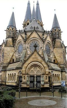 Ringkirche is a Protestant church in Wiesbaden, the state capital of Hesse, Germany.