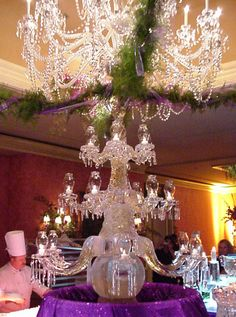 Candelabra Ice Carving