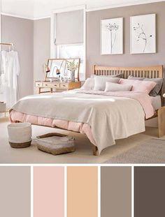 Bedroom Wall Designs, Room Design Bedroom, Room Ideas Bedroom, Home Room Design, Home Decor Bedroom, Gold Bedroom, Best Bedroom Colors, Bedroom Colour Palette, Bedroom Color Schemes