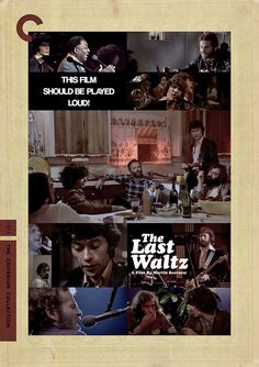 The Band - The Last Waltz (Criterion Cover)