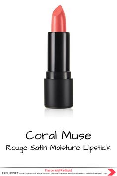 Need a lipstick that's bold AND nourishing? The Rouge Satin Moisture Lipstick features a moisturizing color-rich formula with a soft, satiny finish. Try it in the light orange shade Coral Muse! Brought to you by Avon x The Face Shop. Click to see all 6 K Beauty cosmetics products Avon is adding to their lineup. ~ EXCLUSIVE Avon coupon code when you visit the blog ~ Save money with my exclusive discount - only for new subscribers! ~ K Beauty, Beauty Hacks, The Rouge, The Face Shop, Korean Makeup, Light Orange, Lineup, Color Trends, Coupon Codes