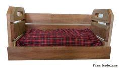 Caixote de feira cama pet