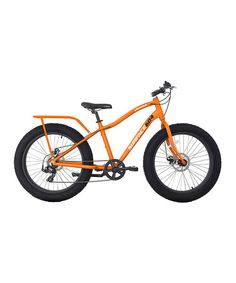 Take a look at this Surface 604 Matte Orange Element Fat-Tire Bike on zulily today!