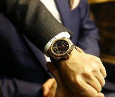 BASELWORLD 2015: Mẫu đồng hồ Admiral's Cup AC-One 45 Double Tourbillon trên tay Frost team tại buổi họp cùng thương hiệu đồng hồ cao cấp Corum tại triển lãm Baselworld vừa qua.