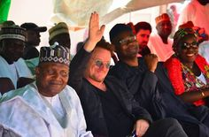 Welcome to Olusola Olaniyi's Planet blog : PHOTOS: Bono and Aliko Dangote…