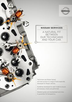 Did you know that Nissan technicians are trained to use tools developped just for Nissan vehicles? You do the driving and we'll do the rest. Schedule your maintenance appointment NOW!