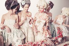 Bastille Day - Our favourite Marie Antoinette designs, desserts and photos! Marie Antoinette, Photography Projects, Fashion Photography, Burlesque, Rococo Fashion, Movie Costumes, Fashion Shoot, My Favorite Color, World Of Fashion