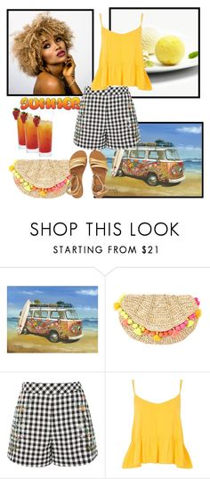 """""""Untitled #1290"""" by misaflowers ❤ liked on Polyvore featuring Lilly Pulitzer, Topshop and Billabong"""