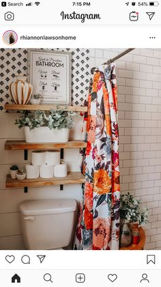 6 Most Useful Small Bathroom Design Ideas - Des Home Design Bad Inspiration, Bathroom Inspiration, Cute Bathroom Ideas, Home Design, Design Ideas, Bath Design, Design Bathroom, Boho Bathroom, Colorful Bathroom