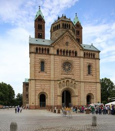 Imperial Cathedral Basilica of Saint Mary and Saint Stephen, Speyer  –  A Guest Post by Jong-Soung Kimm
