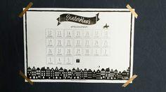 Free printable Sinterklaas aftelkalender 2016 | Samen met je kind aftellen tot pakjesavond met deze aftelkalender die je gratis kunt downloaden via gomommygo.nl