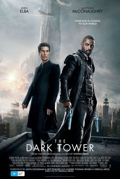 """As you can see from the below Kernel Blake loves THE DARK TOWER. """"THE DARK TOWER is a dull, lifeless mess, spend your money on something else. Anything else."""" Full review is now up on Salty Popcorn. OUT NOW https://saltypopcorn.com.au/the-dark-tower-review/"""