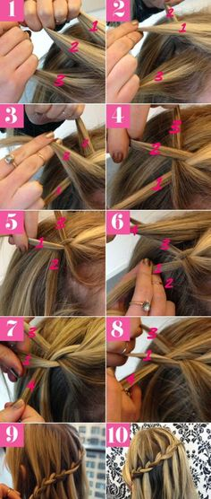 5 Best Waterfall Braids: Hairstyle Ideas for Long Hair