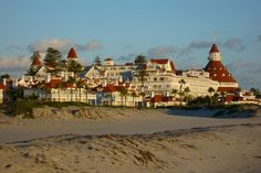 Hotel Del Coronado San Diego, CA:  Loved going to Sunday brunches there and just LOVE the beach and town.