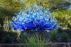 Clic para ampliar Dale Chihuly, Desert Botanical Garden, Botanical Gardens, L'art Du Vitrail, Stained Glass Art, Bottle Art, Fractal Art, Installation Art, Pottery Art