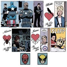 Guest appearances from some of your other Marvel favorites.