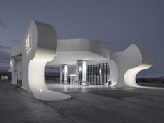 BUS & TRAIN STATIONS (jury): Highway Rest Stops by J. MAYER H. Architects