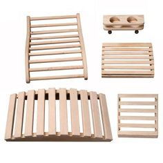 Our Deluxe Sauna Accessory Kit was designed for comfort, convenience and functionality. Each piece is constructed from top-grade western Canadian Hemlock wood, sanded Jacuzzi, Pool Indoor, Pool Pool, Sauna Accessories, Sauna Heater, Sauna Room, Infrared Sauna, Easy Craft Projects, Kit