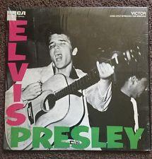Elvis Presley Rca 1956 Vinyl Record Rockabilly