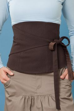 corset belt. Like :)