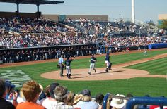 Peoria Stadium... spring training home of the Seattle Mariners and San Diego Padres.