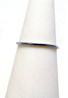 New to ZoesWishingWell on Etsy: Sterling Silver Stacking Ring - Size 7.5 - Textured Ring - Silver Ring - Sterling Silver 925 - Dainty Ring - Stacking Jewelry (12.00 USD)