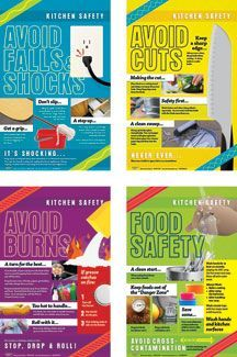 kitchen safety poster - Google Search
