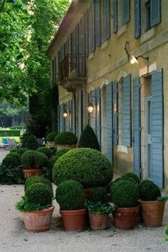 terrace design and big french pots! - MY FRENCH COUNTRY HOME