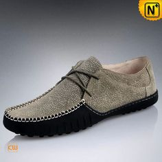 Mens Leather Driving Moccasin Shoes CW740100 $128.89 - www.cwmalls.com Impeccable comfort sporty design leather driving moccasin shoes with elegant style, uppers and interior lining are made from supple genuine cow leather, durable rubber outsole.
