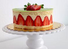 Sa majesté le fraisier – avec Thermomix