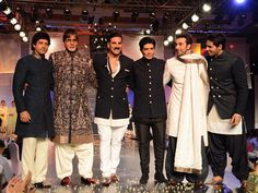 It's not everyday that you will find popular Bollywood actors from different generations walk down the ramp for a cause. Shabana Azmi's NGO Mijwan for Welfare Society and fashion designer Manish Malhotra came together yet again to showcase some beautiful creations last evening. The fund-raising initiative saw many an A-lister attend the show and support the cause. Check out who all were spotted.Don't Miss! Celeb Spotting: At WIFW Autumn-Winter 2014