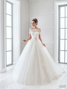 Dress 906 | ElodyWedding.com