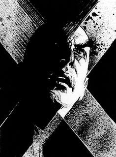Professor X - Charles Xavier by Bill Sienkiewicz *