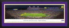 Louisiana State Tigers Panoramic Picture - Tiger Stadium- Football $199.95