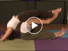 WATCH NOW: Candlestick to Paschimottanasana Matsyasana in Yoga. Part of the series: Partner Yoga Guide. Learn the candlestick pose for partner yoga in this free how-to video on partner yoga sequences and positions.