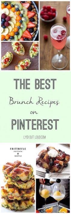 Do Brunch! These brunch recipes are phenomenal!These brunch recipes are phenomenal! Brunch Menu, Brunch Party, Sunday Brunch, Brunch Food, Brunch Drinks, Brunch Wedding, Dinner Menu, Best Brunch Recipes, Favorite Recipes