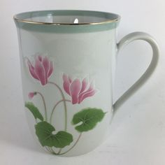 5 oz Mini Espresso Coffee Mug Pavilion Enjoy The Little Things In Life Silver /& Teal